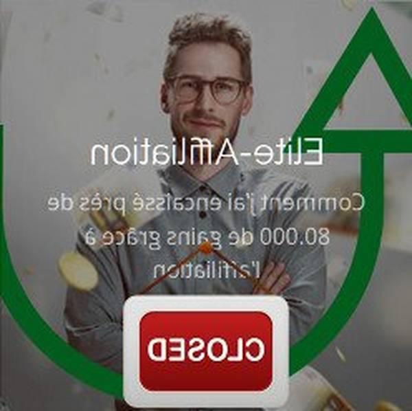 marketing d'affiliation - de zéro à 6 chiffres en moins de 10 mois !